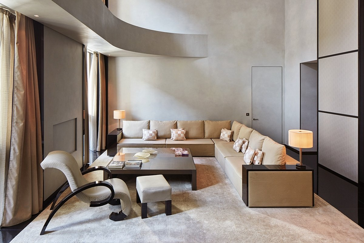Suite of the week armani signature suite in armani hotel for Executive milano