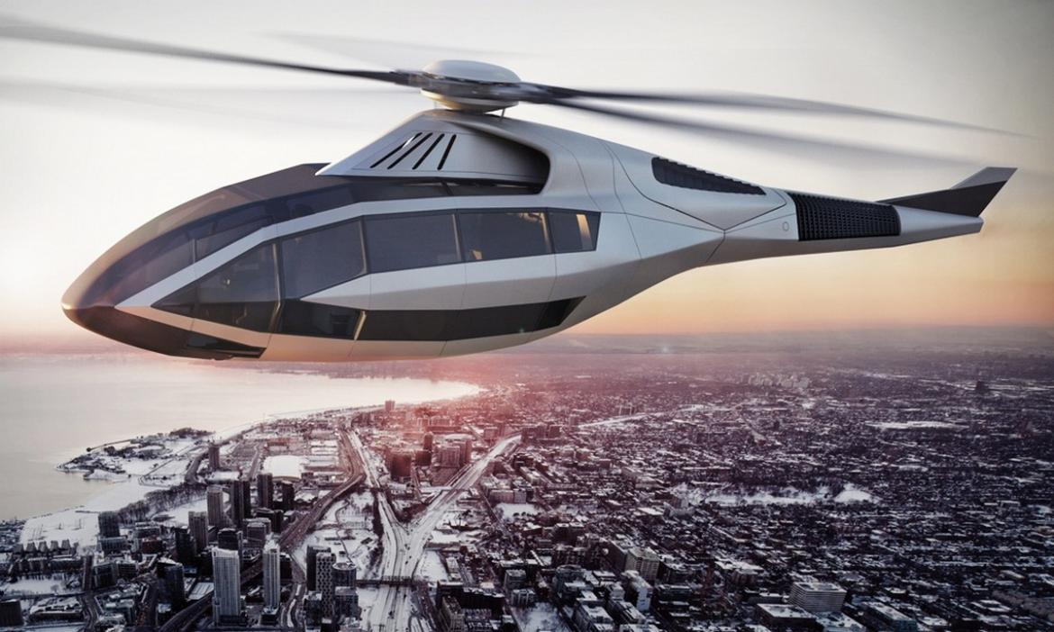 Once Driven Reviews >> Bell's futuristic FCX-001 concept helicopter is what ...
