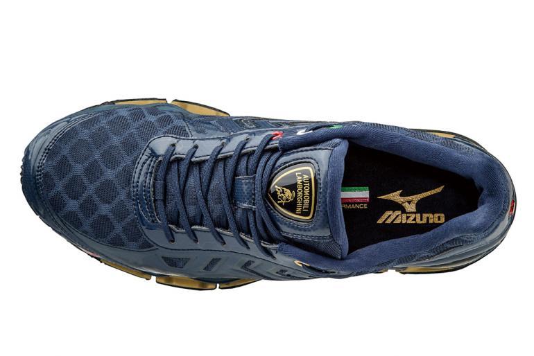 Automobili Lamborghini Wave Tenjin  Running Shoes By Mizuno