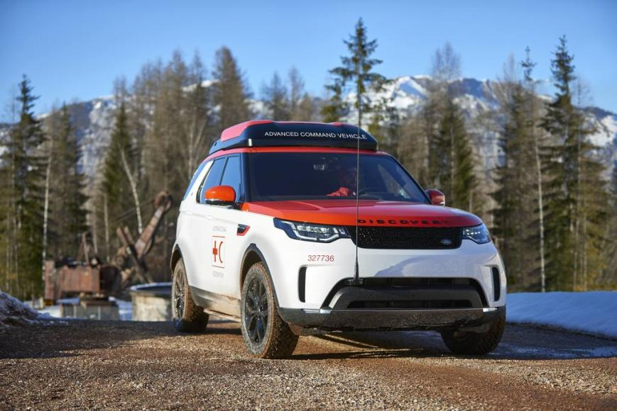 Land Rover Discovery for Red Cross (8)