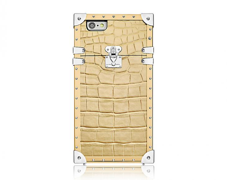 Louis Vuitton Eye-Trunk Crocodile iPhone 7 Case