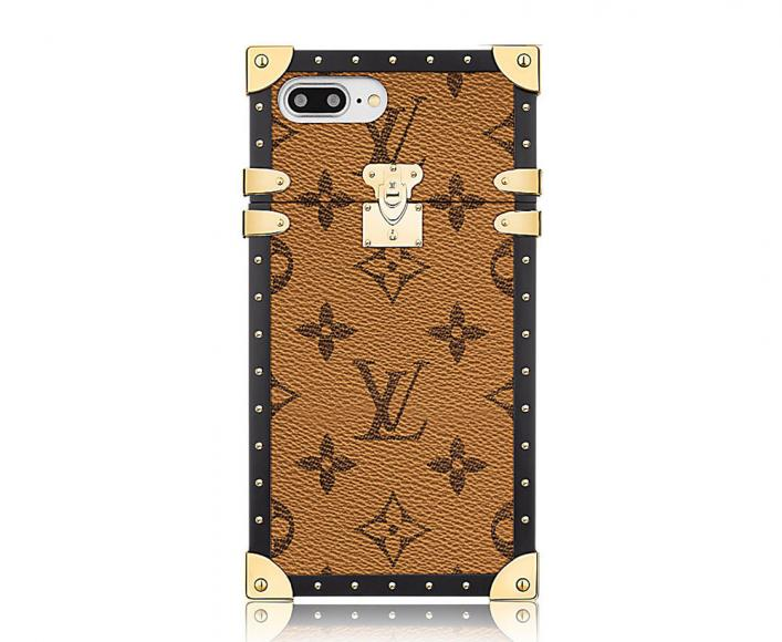 Louis Vuitton Eye-Trunk Monogram Reverse iPhone 7 Plus Case