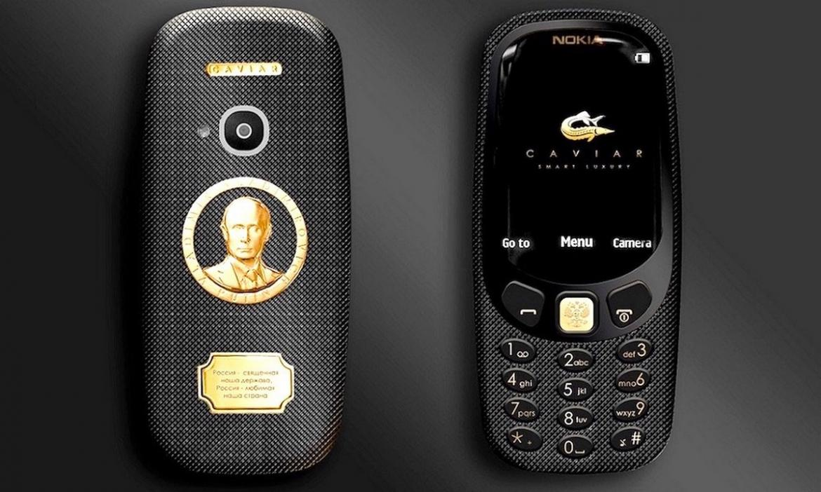 The Most Popular Man On The Strongest Phone The Nokia 3310 Putin Edition