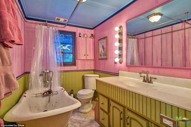 Is this the most colorful home in the whole of USA? -