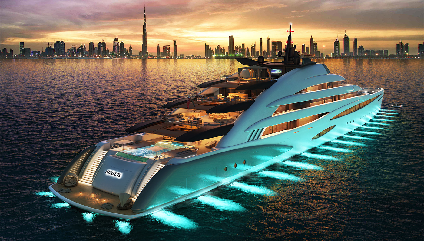 These yacht concepts are so cool. We so wish they are built some day