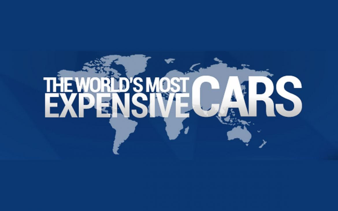 The most expensive cars in the world for 2017 (Infographic)