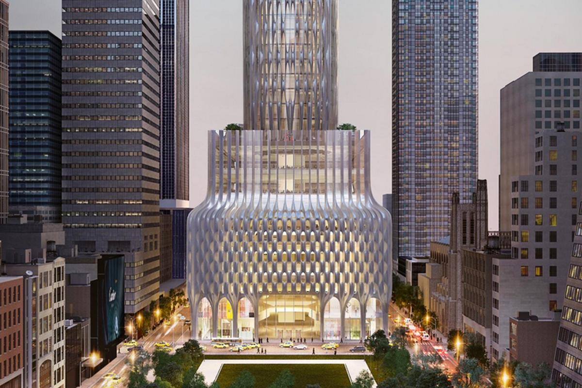 New York is getting a fancy 1,400 foot skyscraper by Zaha Hadid architects : Luxurylaunches