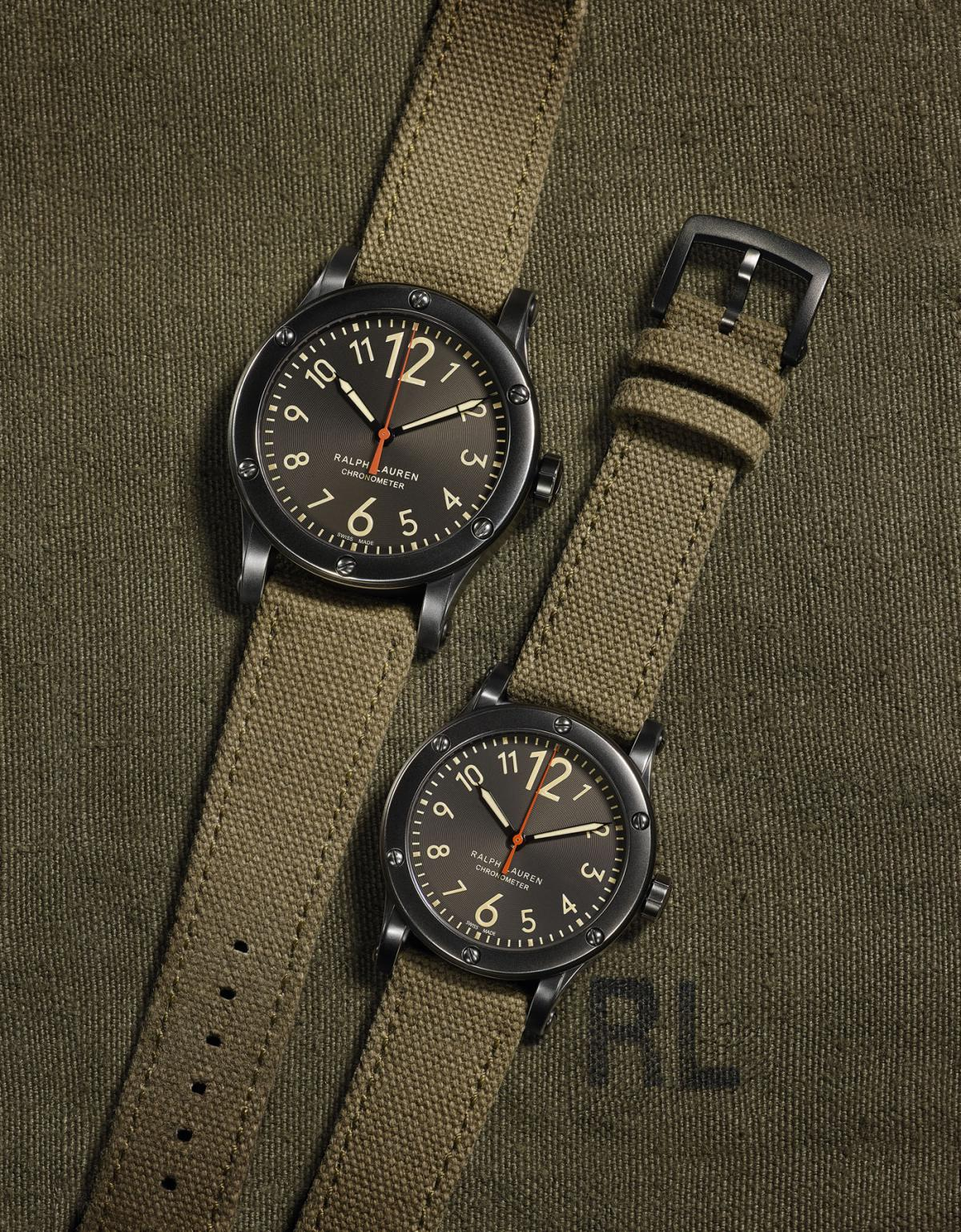 Ralph Lauren introduces two new watches in RL67 Safari Chronometer collection