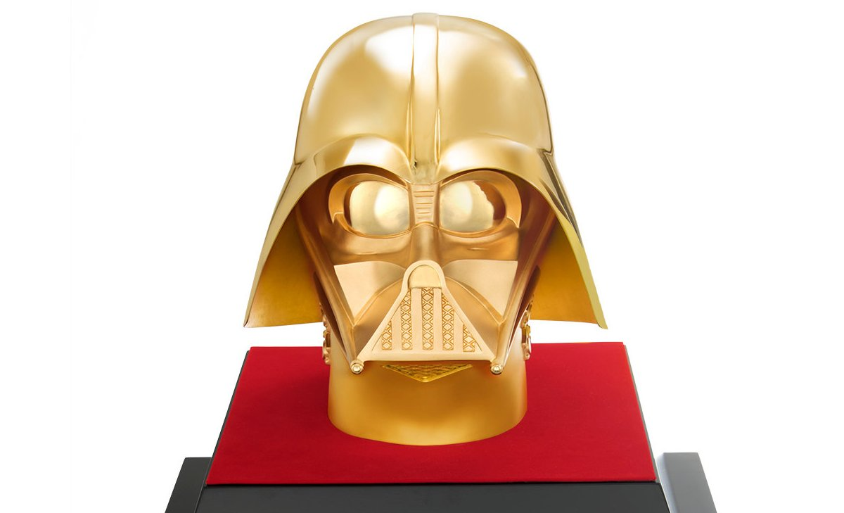 Solid 24 karat gold Darth Vader mask can be yours for $1.4 million : Luxurylaunches