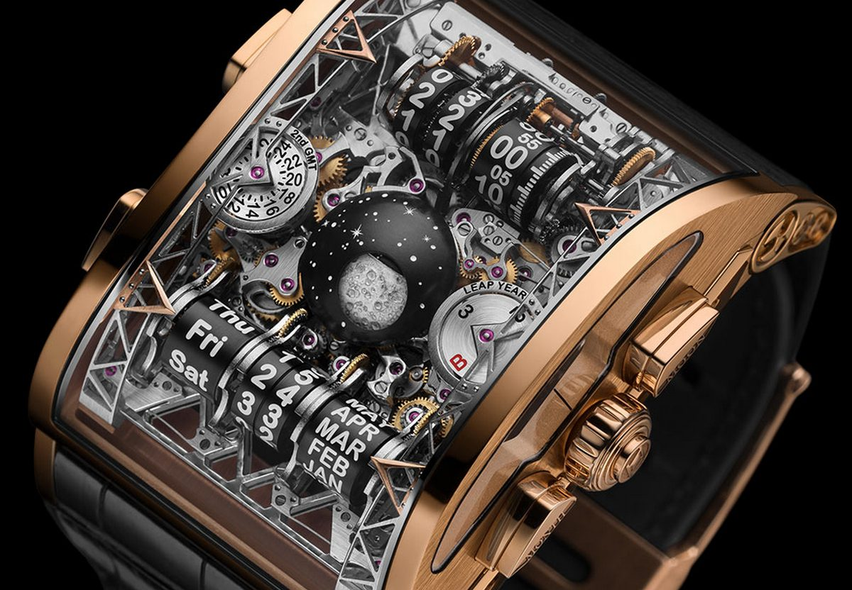 The Hysek Colossal Grande will make you rethink how complex watch complications can be -
