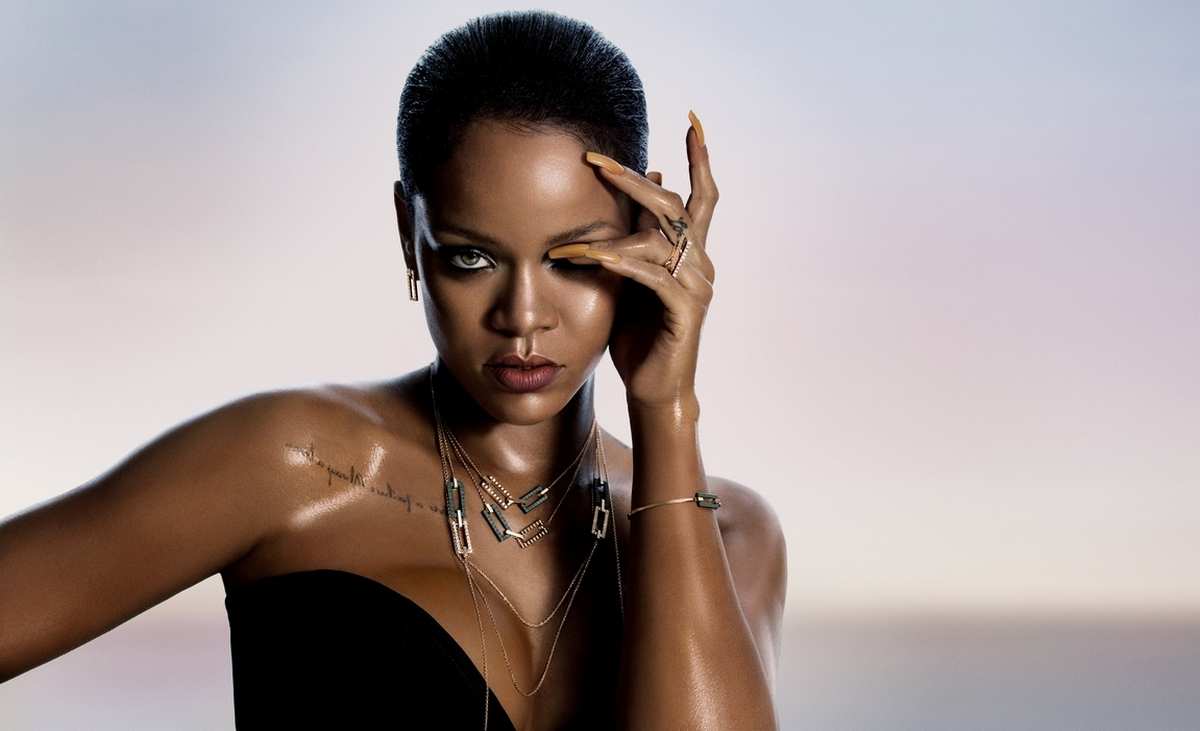 Here's your first look at Rihanna's jewelry collection for Chopard : Luxurylaunches