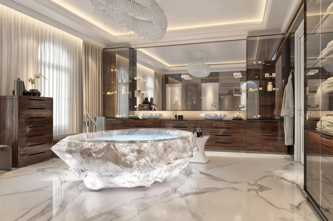 This Exotic Holiday Villa In Dubai Comes With A 1m Bathtub