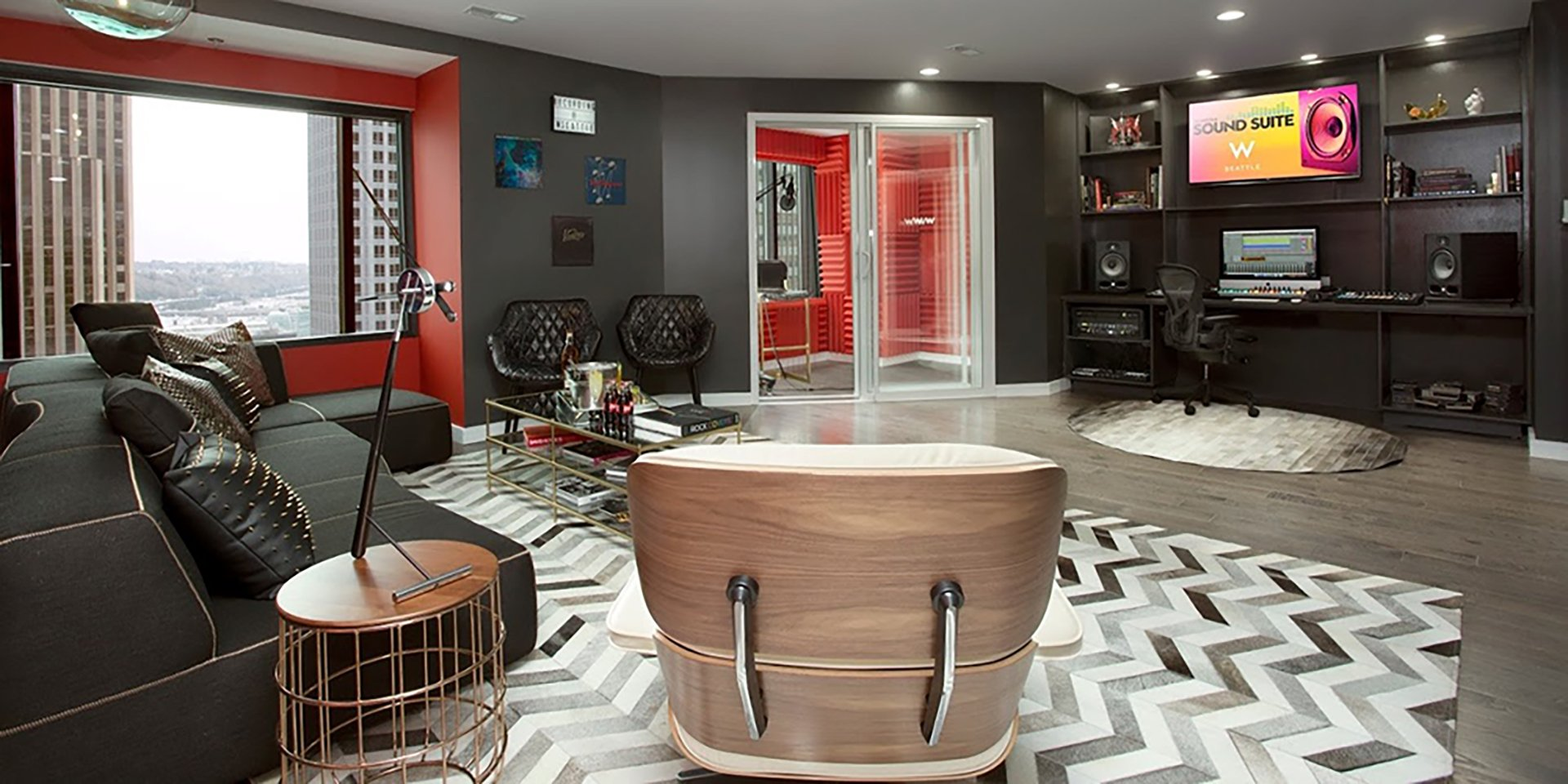 W Hotels Launch North America S First Sound Suite In Seattle