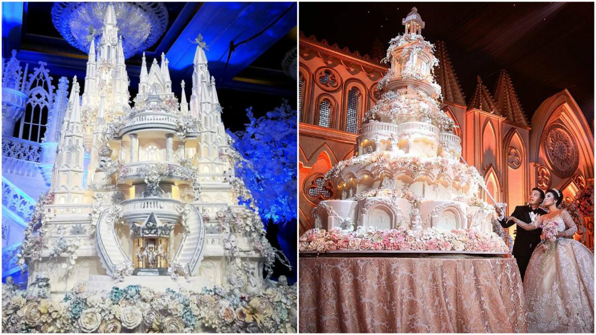 most amazing wedding cake in the world proof this bakery creates the worlds most 17540
