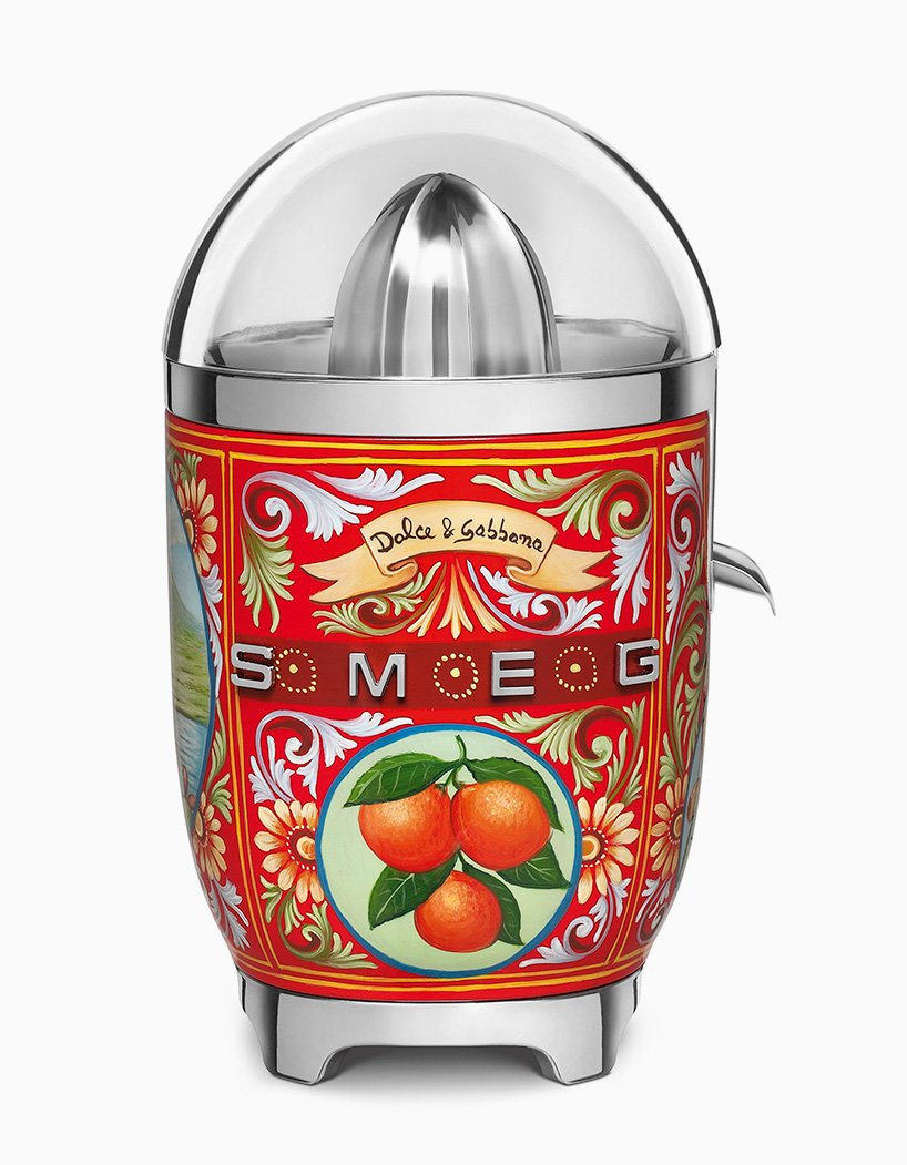 Smeg Collaborates With Dolce And Gabbana For Designer