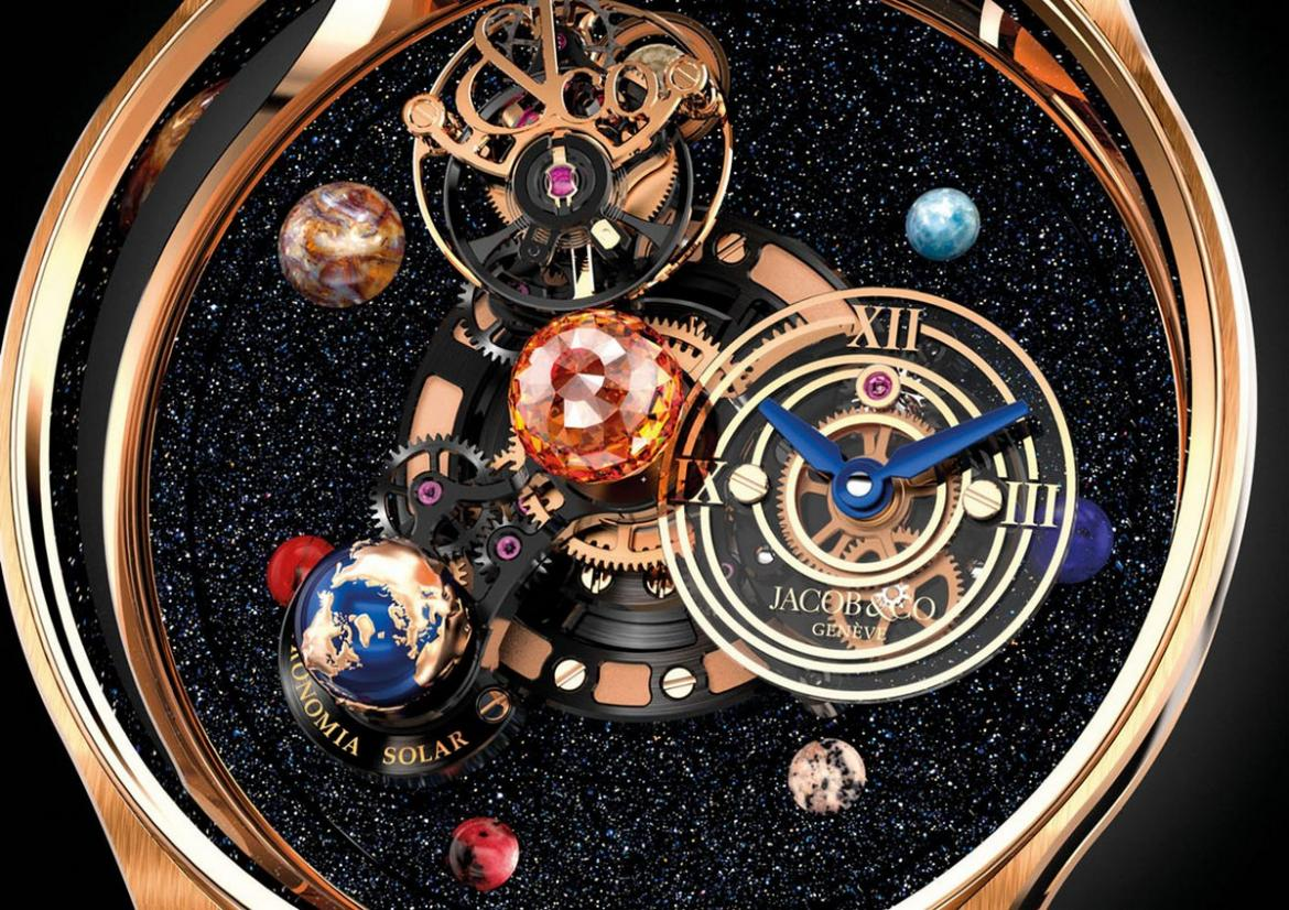 Jacob Amp Co S New Astronomia Solar Watch