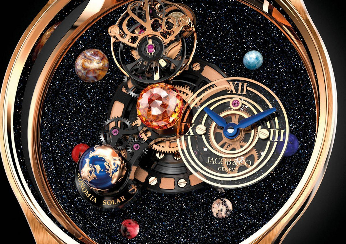 Jacob Amp Co S New Astronomia Solar Watch