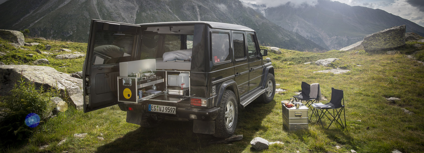 This G Box Kit Turns The Mercedes Benz Wagen Into A Camper In Just I Can Come Up With Big List Of Reasons Why Think Is Ultimate All Terrain Vehicle Money Buy