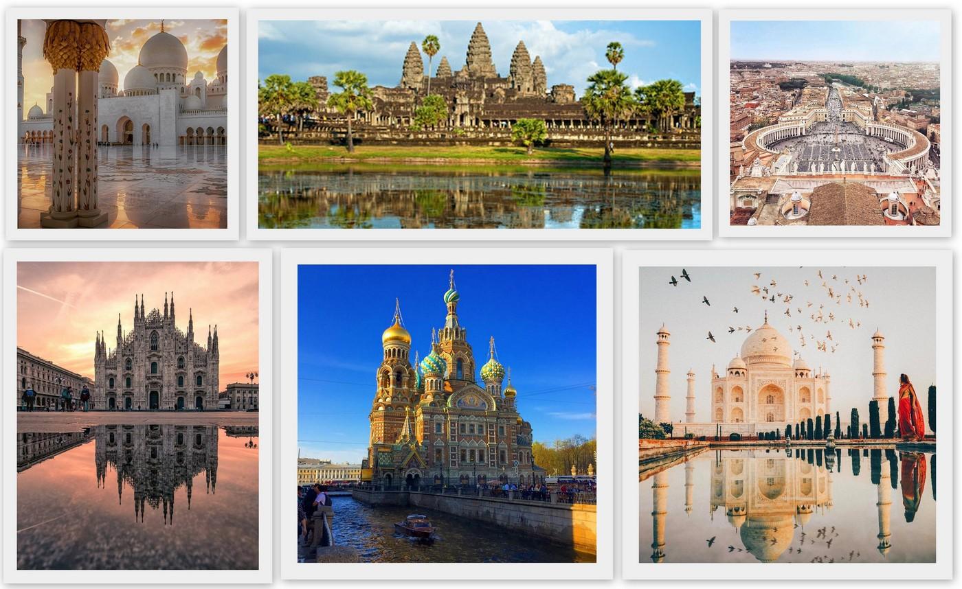 Top 10 landmarks in the world according to Tripadvisor