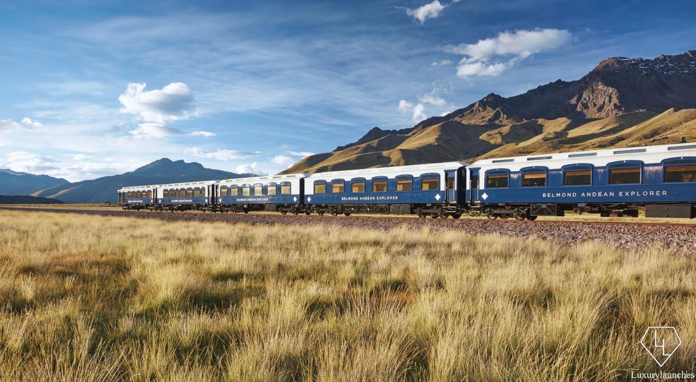 Take a look inside the most luxurious train in South America