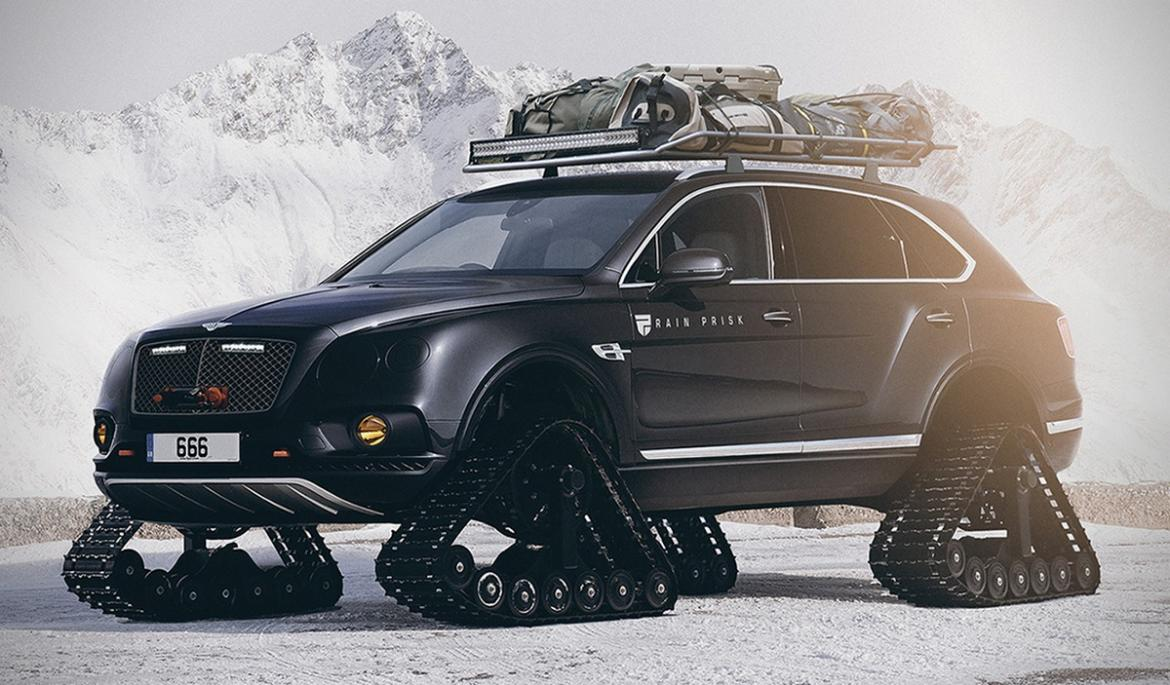 Is This Bentley Bentayga With Tank Tracks The Most