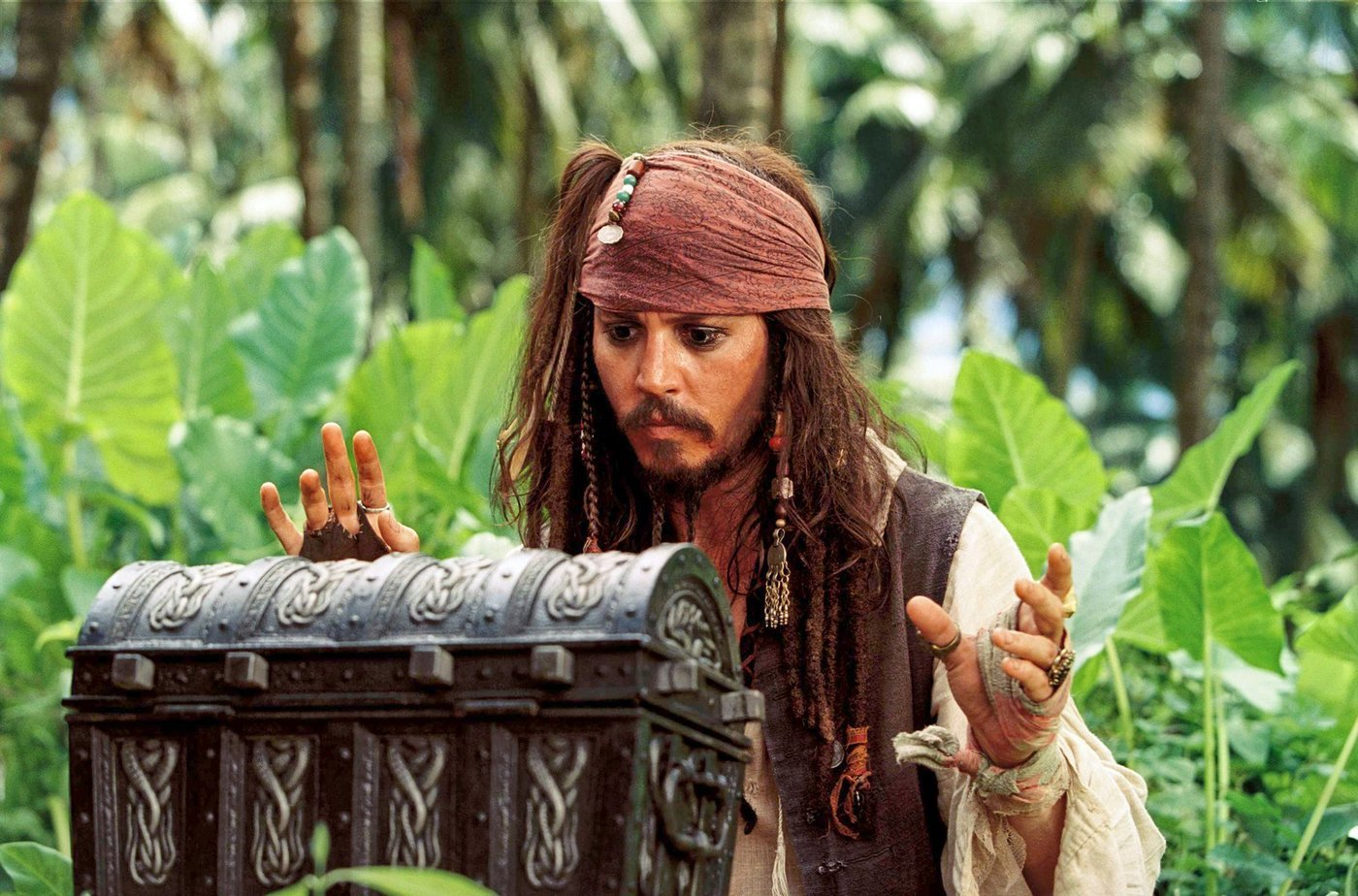 Captain Jack Sparrow Wears  290 000 Worth Of Jewelry On
