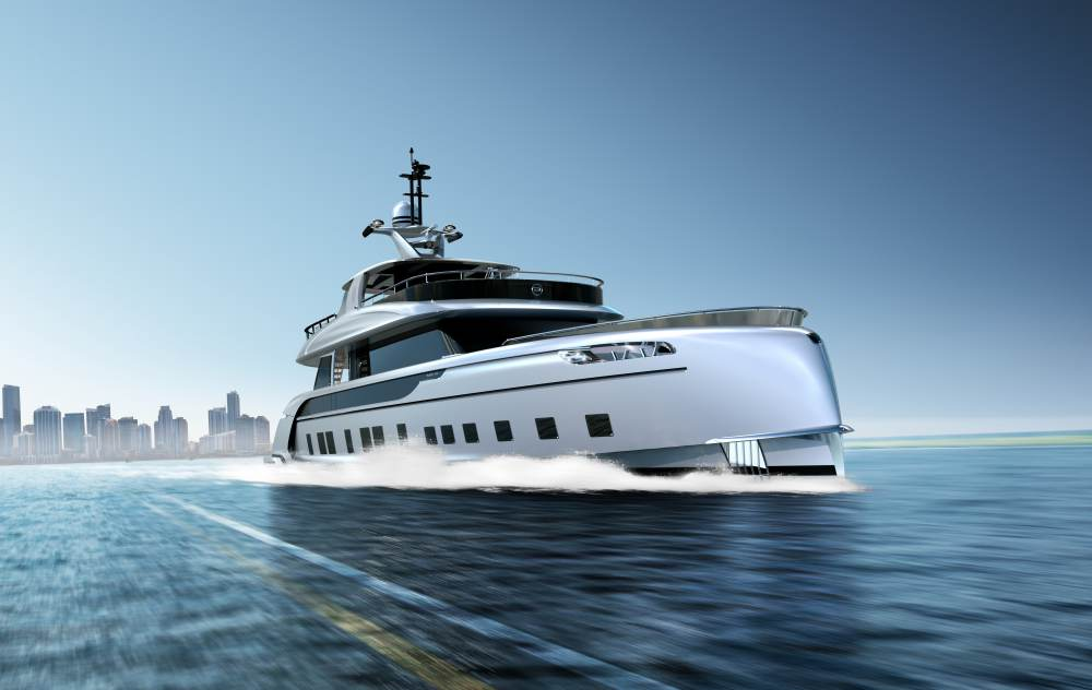 Take a look at the 35 meter superyacht  styled by Porsche Design that costs $13 million