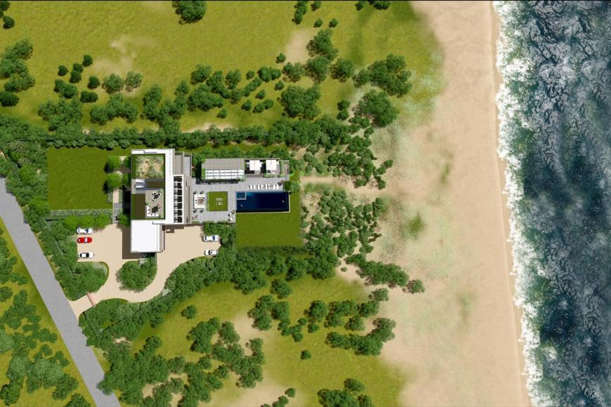 Hamptons-Spec-House-Transparent-Pool-For-Sale-Aerial