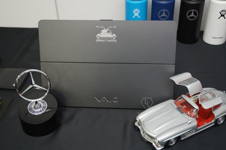 mercedes-benz collaborates with vaio to introduce limited edition