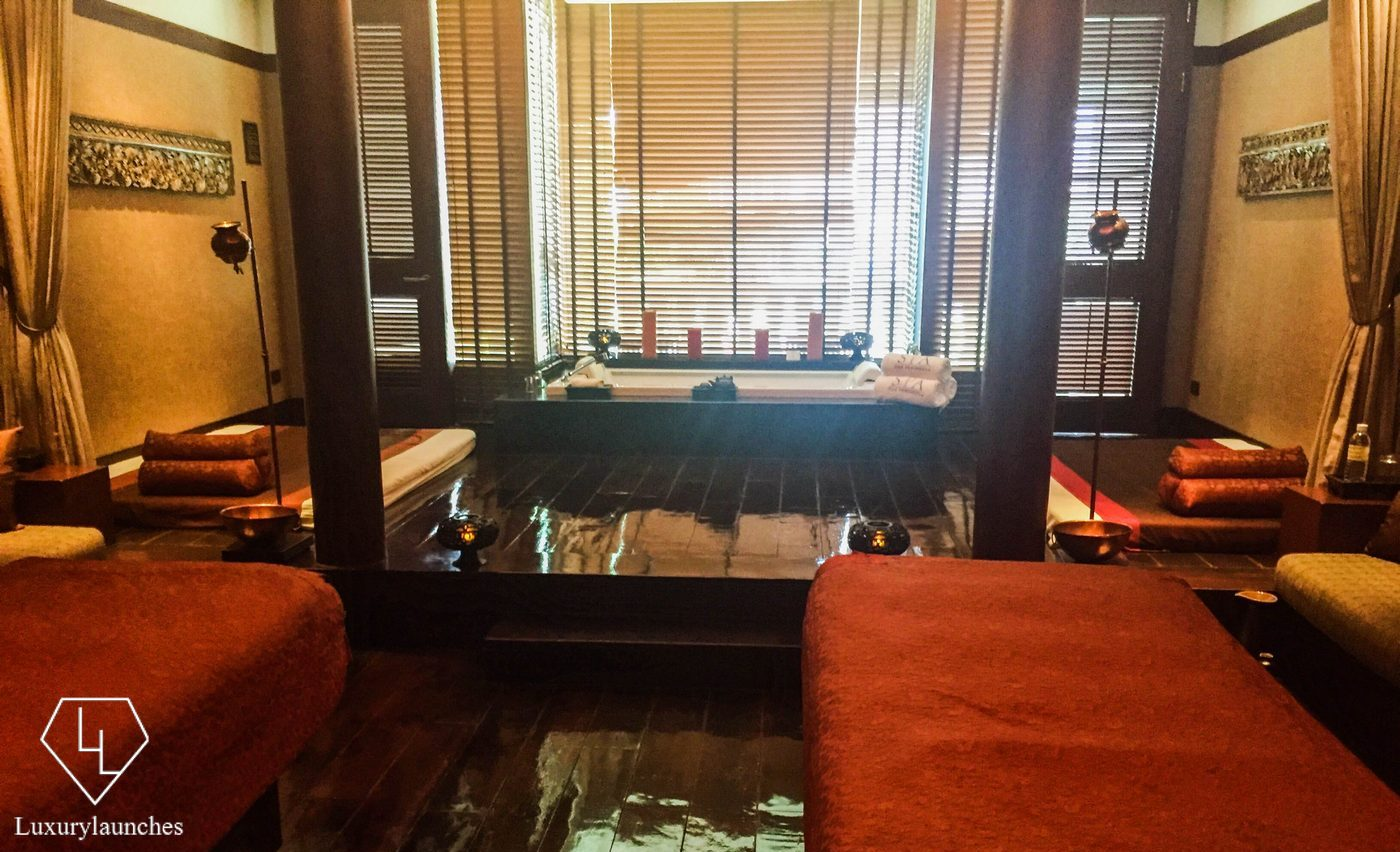 Private suite for treatments at the Spa