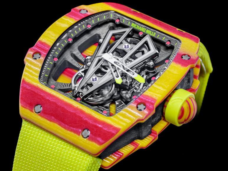 Richard-Mille-RM-27-03-Rafael-Nadal-Tourbillon-Shock-Resistant-TPT-Quartz-colorful-watch (1)