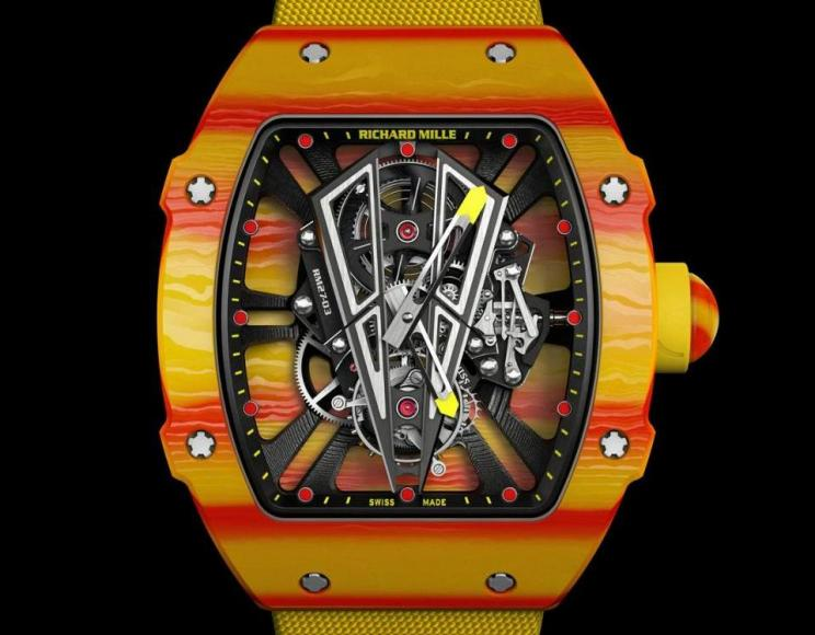 Richard-Mille-RM-27-03-Rafael-Nadal-Tourbillon-Shock-Resistant-TPT-Quartz-colorful-watch (2)