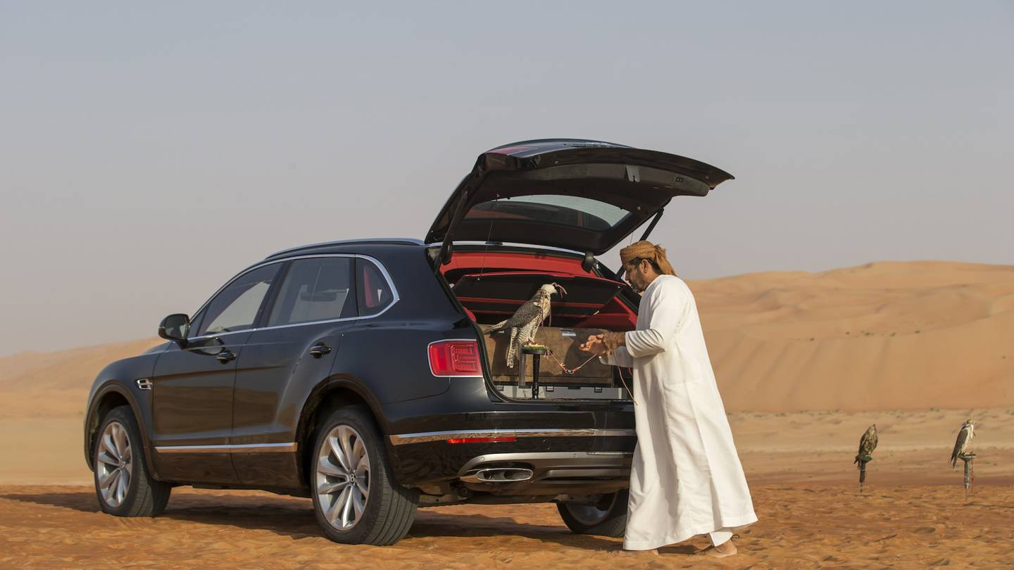Bentley builds a special edition Bentayga for Falconry