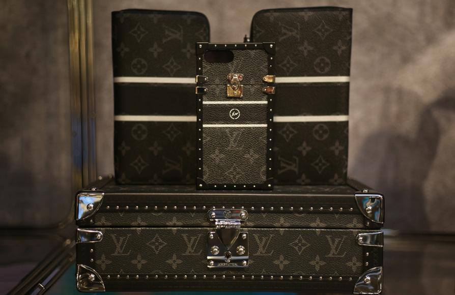 6fc00e9cffbb Check out the uber-chic Louis Vuitton X Fragment design Pop up at ...
