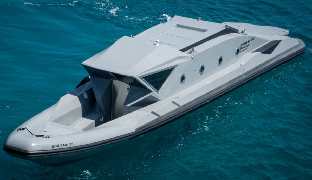 What S More Exclusive Than A Private Boat An Armored