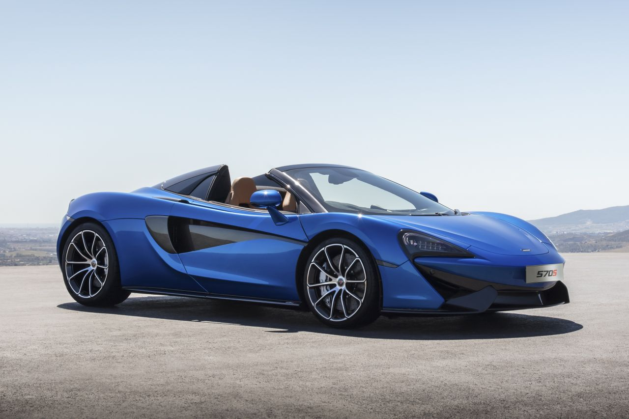 McLaren 570S Spider unveiled ahead of Goodwood debut