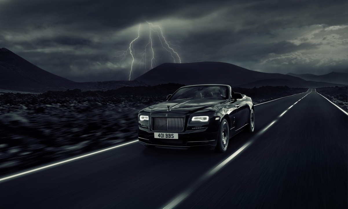 Rolls-Royce Dawn gets the Black Badge treatment; debuts at Goodwood with 593 horsepower