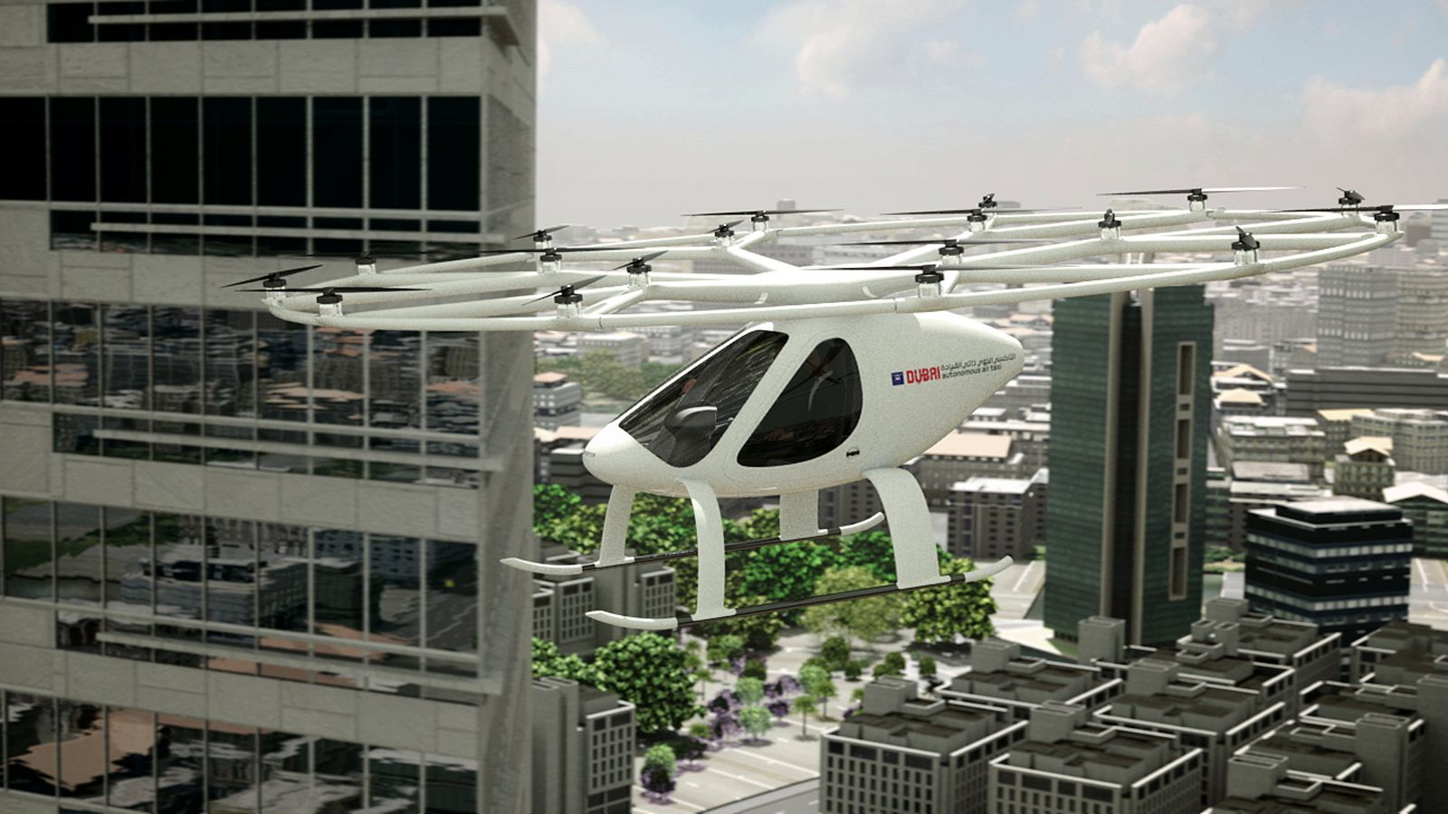 Forget gridlocks – Dubai to get autonomous flying taxis from the end of this year