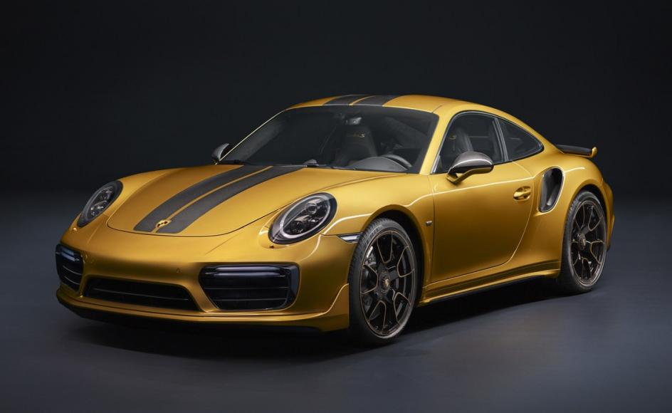 Porsche's new 607hp 911 Turbo S Exclusive Series is the fastest 911