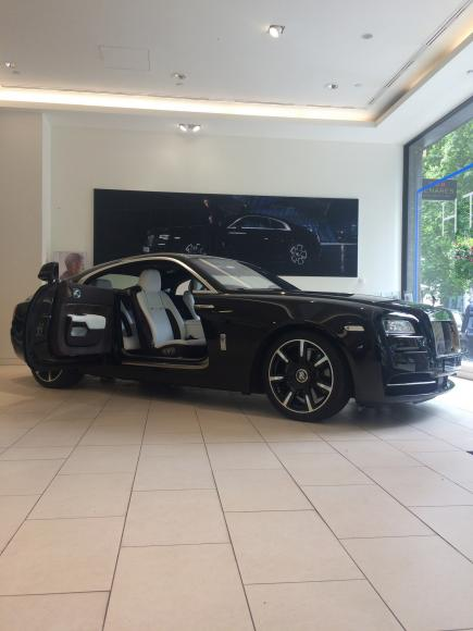 Rolls-Royce Unveils Wraith Inspired by Music (8)