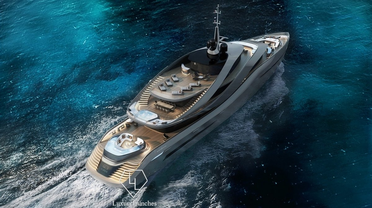 Pininfarina-designed luxury yacht concept 'Aurea' revealed : Luxurylaunches