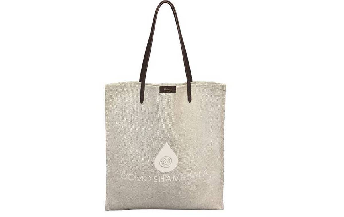 08d050314286 COMO Shambhala celebrates two decades of holistic wellness with a chic  Mulberry tote bag