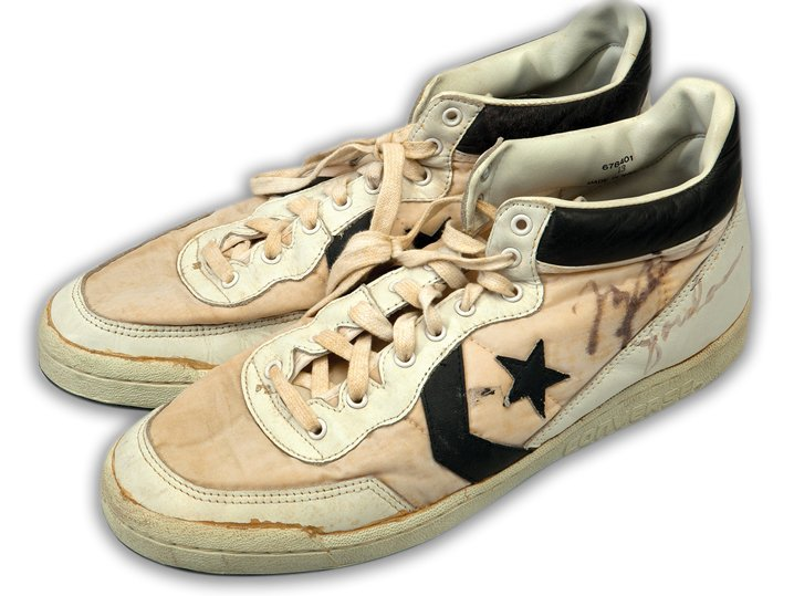 Converse shoes worn by Michael Jordan in the 94 Olympics sell for a record $190,373 : Luxurylaunches