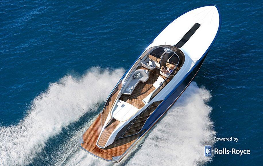 Rolls Royce-powered Aeroboat S6 brings high-performance cruising on a party machine