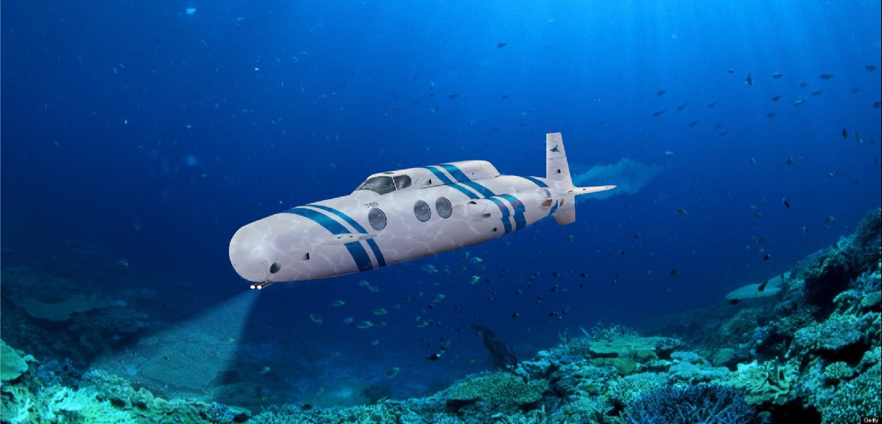 What next after a jet and yacht? Your personal luxury submarine -