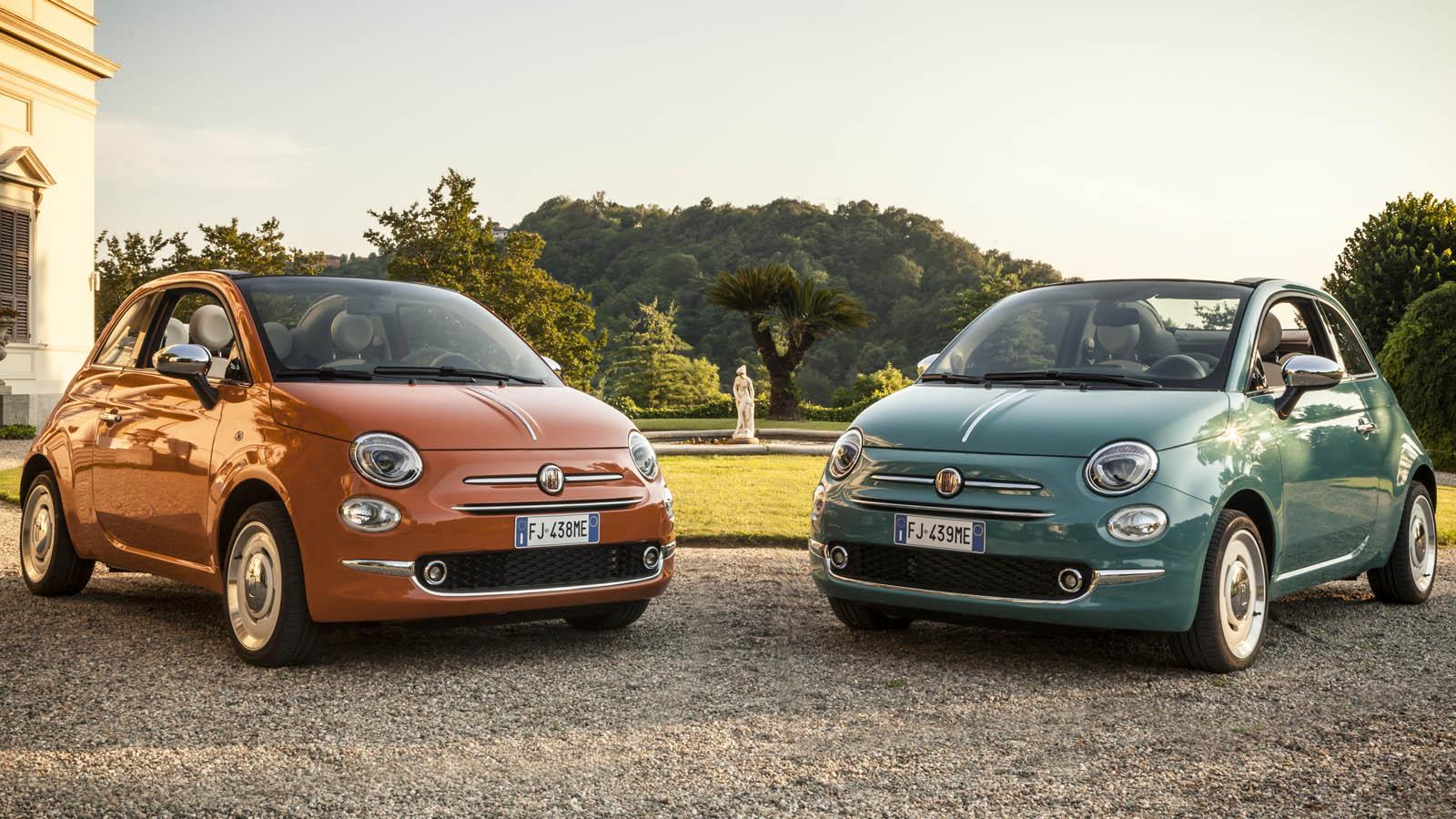 Fiat 500 Anniversario Edition Marks The 60th Anniversary