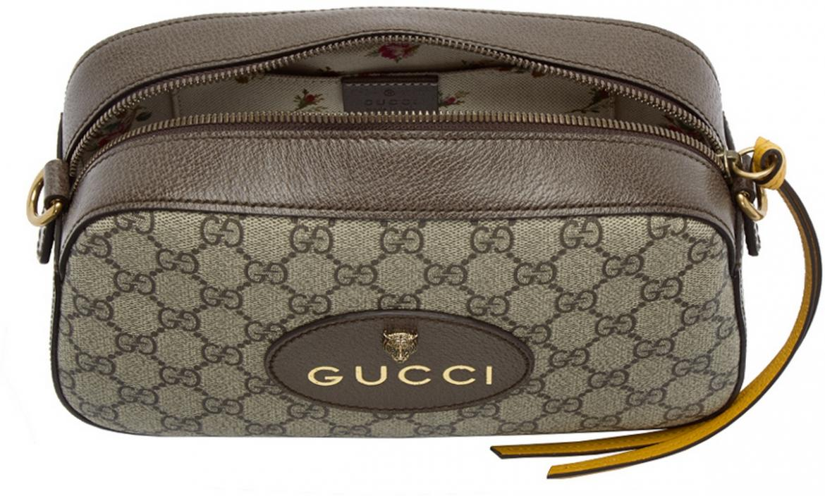 Take A Look At Gucci S Chic Gg Supreme Camera Bag Luxurylaunches