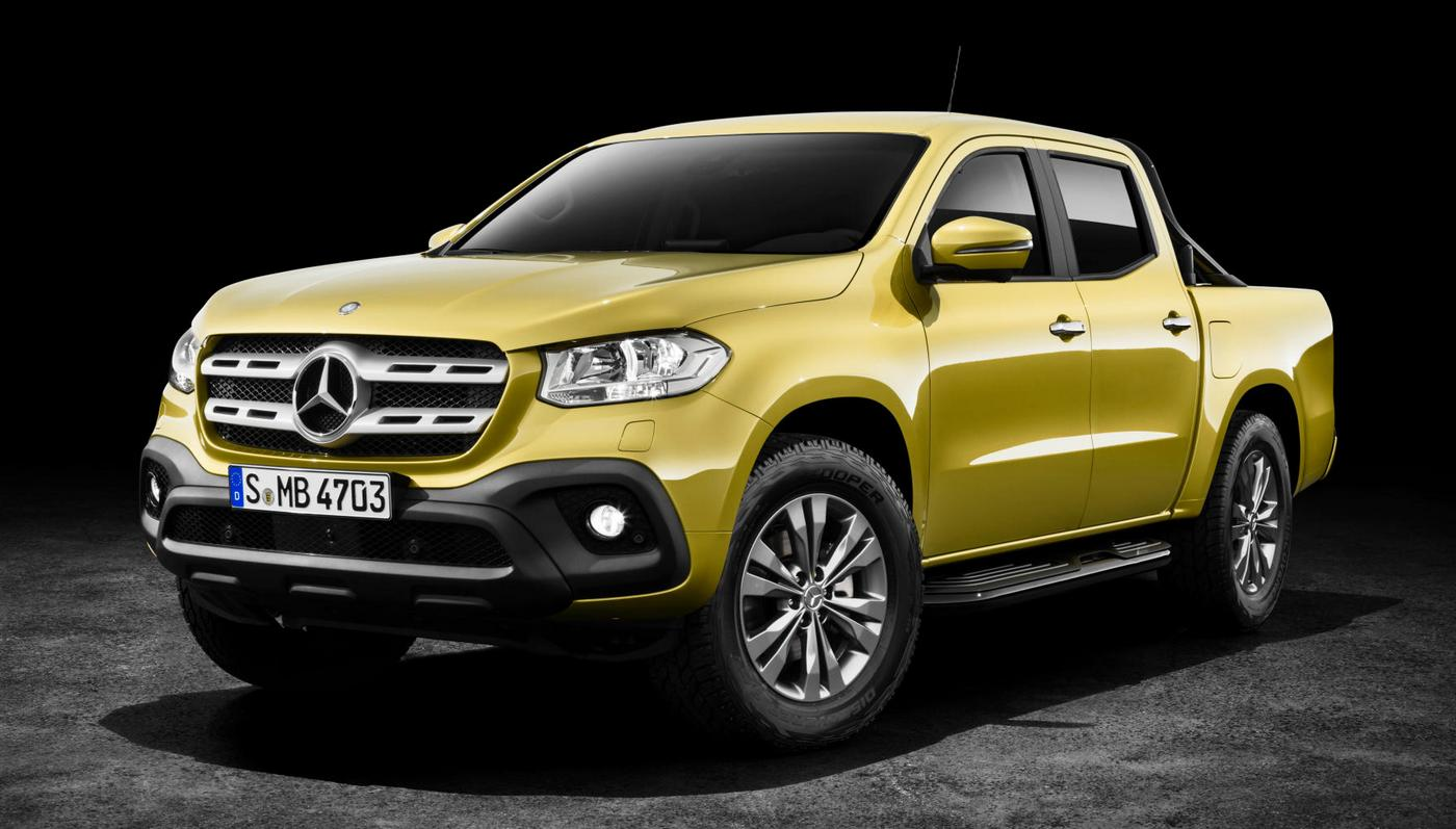 Luxury meets utility in the new Mercedes Benz X-Class pickup truck
