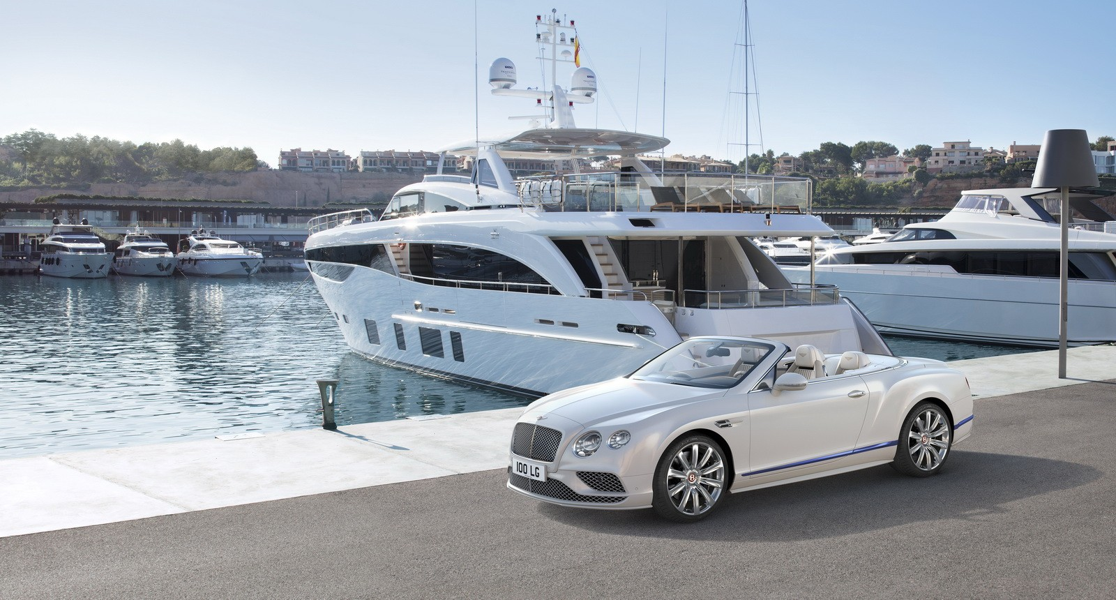 Bentley Continental GT Galene Edition is inspired by luxury yachts