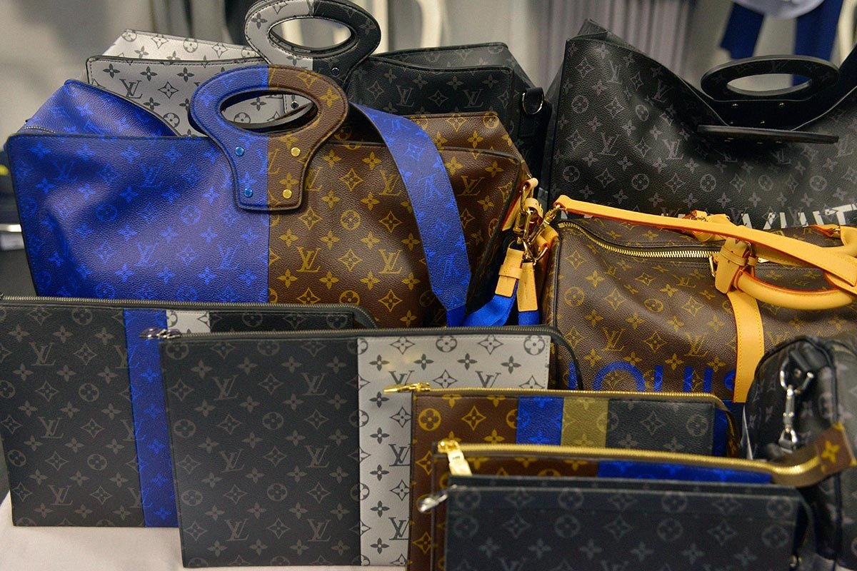 aa60bdfc7c81 Accessories rule at the Louis Vuitton 2018 Spring Summer collection -
